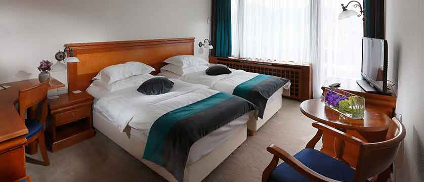 Hotel Kompas, Lake Bled, Slovenia - twin bedroom 2.jpg